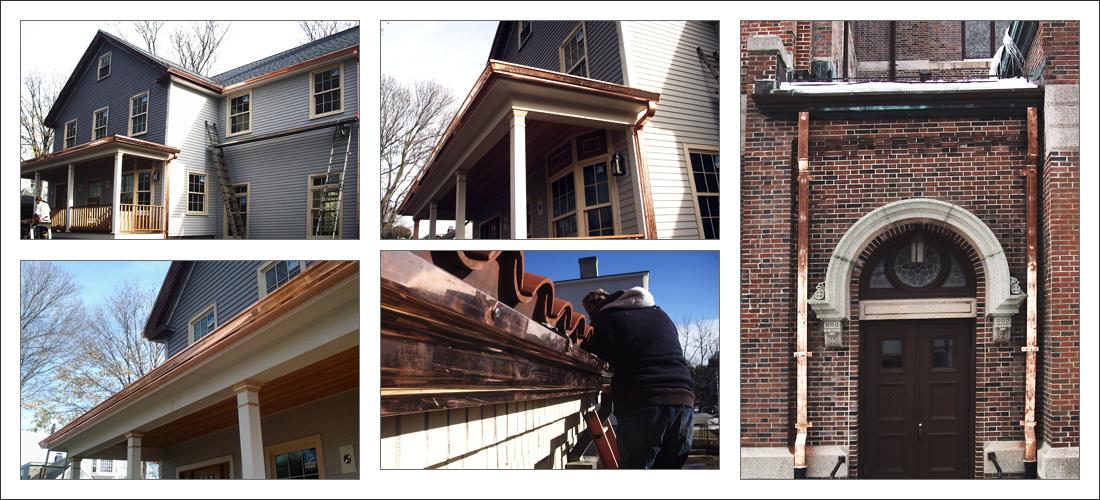 Standing Seam Metal Copper Aluminum Steel Roofing