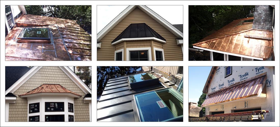 Metal Roofing U2013 Standing Seam Copper, Aluminum, Steel, Metal Roofs U2013 Roof  Installation